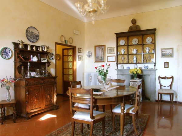 Bed and Breakfast Villa Nobili dinning room