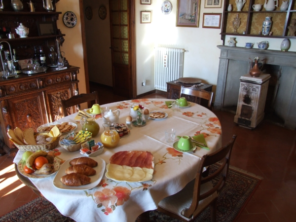 Bed and Breakfast Villa Nobili breakfast 5